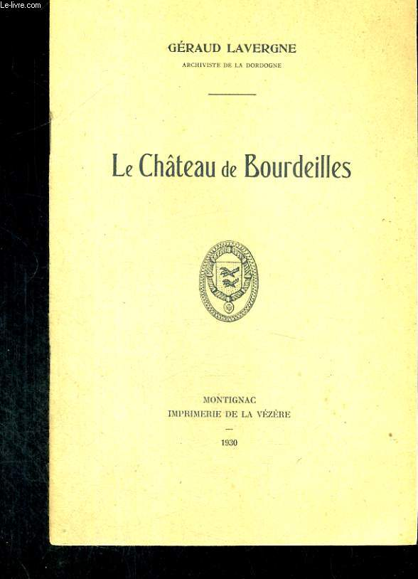 Le Châteu de Bourdeilles