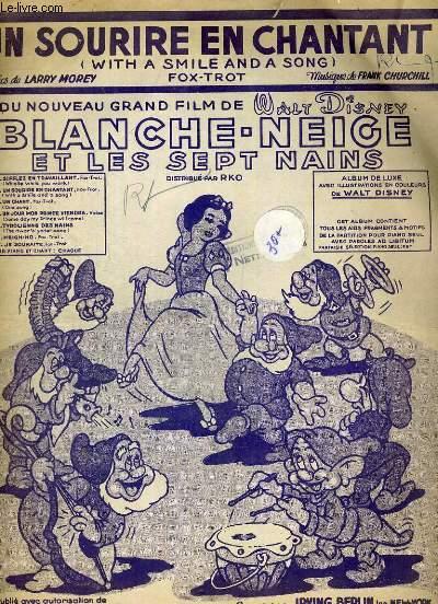 Blanche-Neige et les sept nains. Chant du nouveau film de Walt Disney