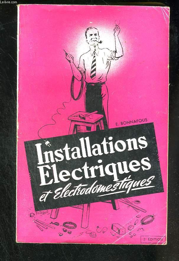Installations électriques et électrodomestiques