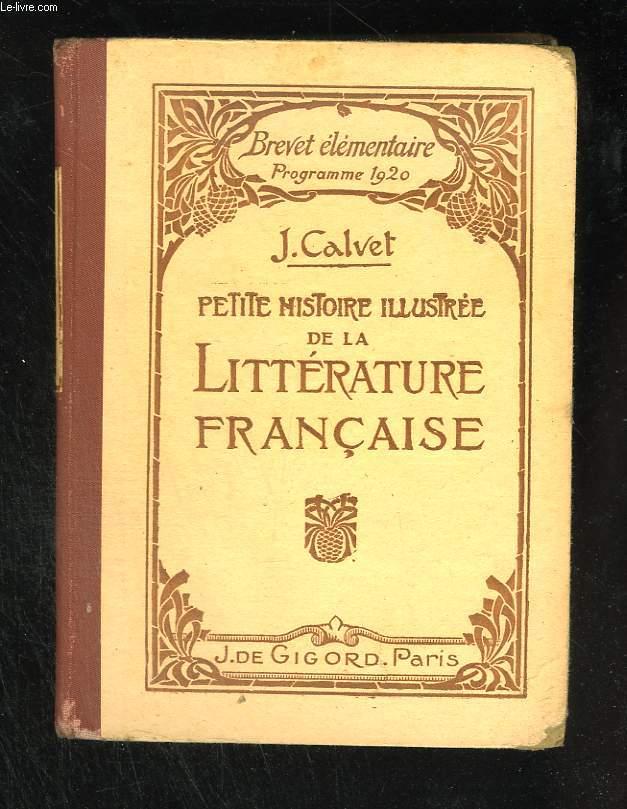 Petite histoire illustrée de la littérature française