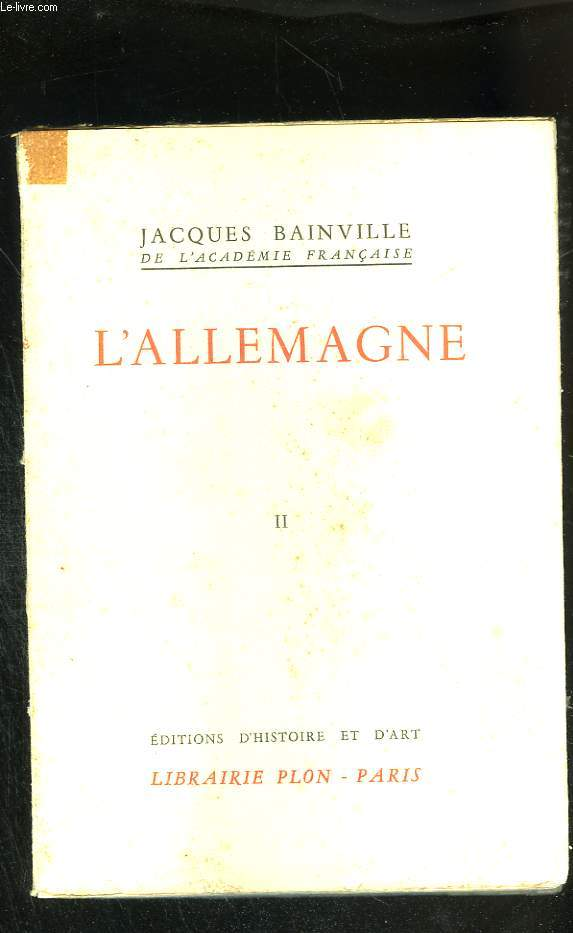 L'Allemagne. Tome II