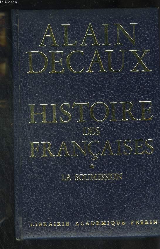 Histoire des françaises.