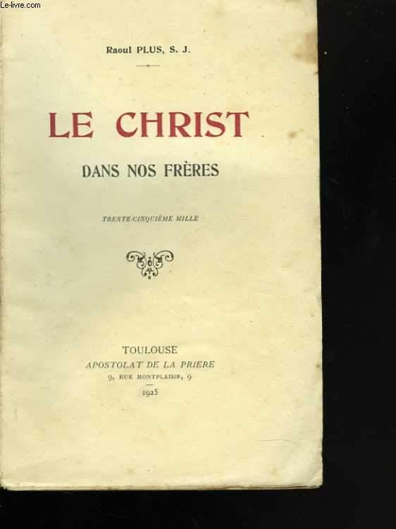 Le Christ dans nos frères