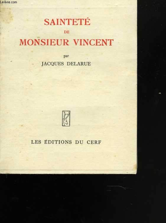 Sainteté de Monsieur Vincent
