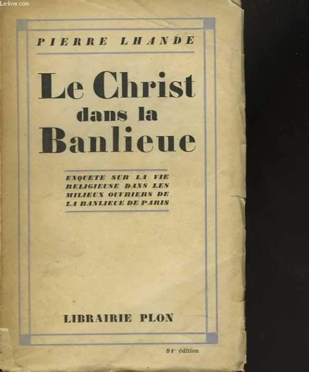 Le Christ dans la Banlieue