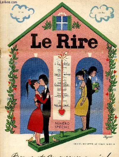 Le Rire - Edition réservée au corps médical - N°64 - Bonne et amoureuse année