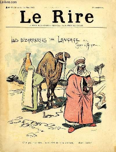 Le rire N°071 Les bizarreries du langage par G.d'Ache.