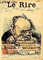 Le rire N°159 Le gotha du rire n°1 - Emile Zola (caricature).