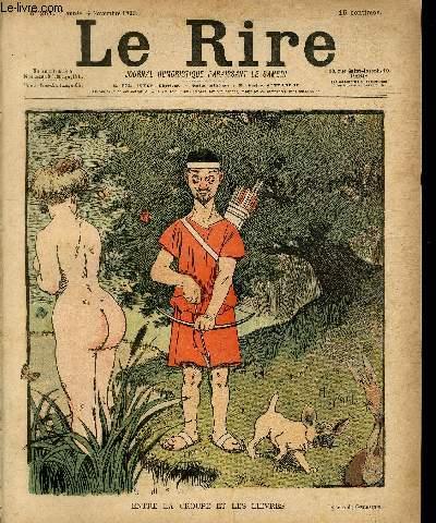 Le rire N°261- Entre la croupe et les lièvres.
