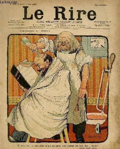 Le rire N°278 - L'opération du trépan.