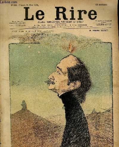 Le rire N°281 - M. Edmond Rostand.