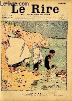 Le rire N°357 - Histoire naturelle - une Kahn menant à l'eau ses petits Kahnards.