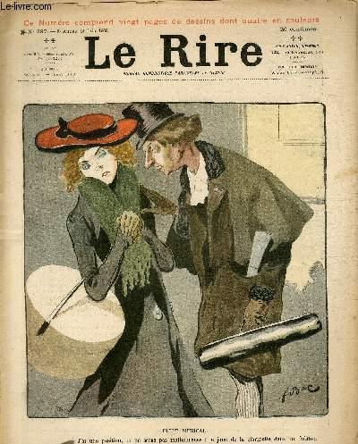 Le rire N°397 - Flirt musical.