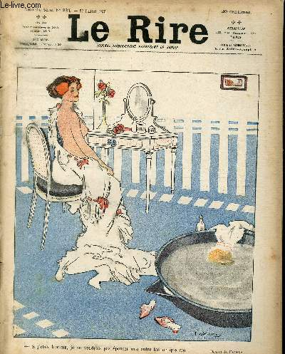 Le rire N°234 de la nouvelle série - Si j'étais un homme je ne voudrais pas épouser une autre femme que moi.