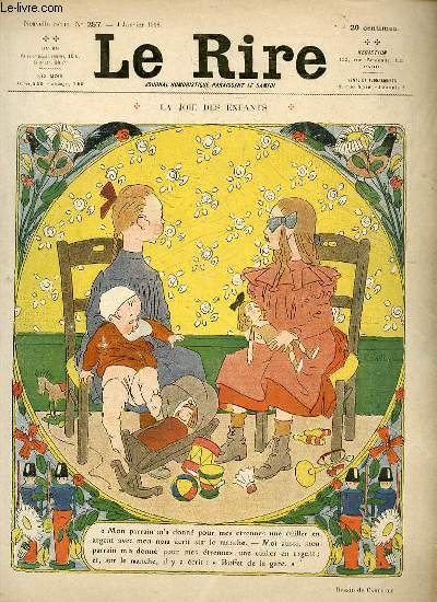 Le rire N°257 de la nouvelle série - La joie des enfants.