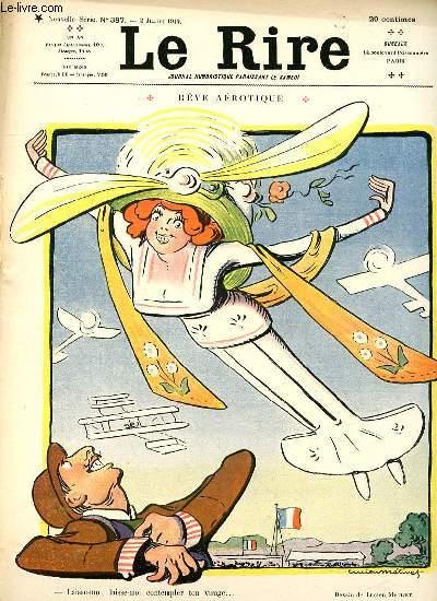 Le rire N°387 de la nouvelle série, Rêve aérotique.