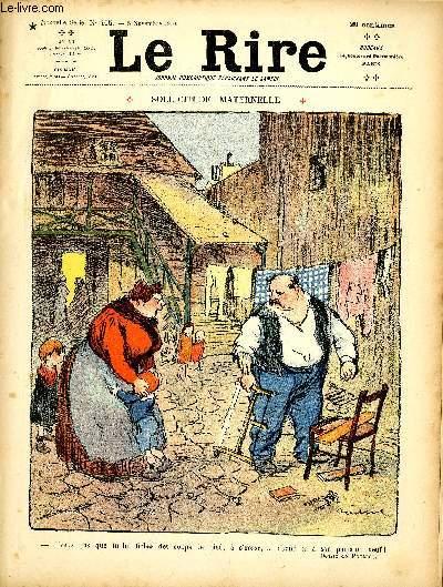 Le rire N°405 de la nouvelle série - Sollicitude Maternelle.
