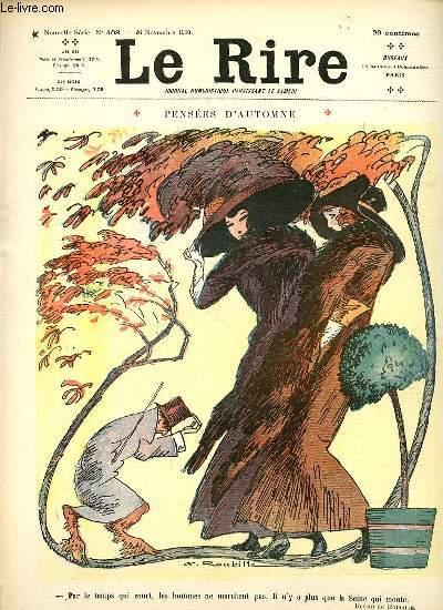 Le rire N°408 de la nouvelle série, Pensées d'automne.