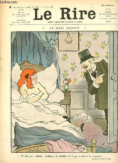 Le rire N°487 de la nouvelle série - LA MARI TROMPE/