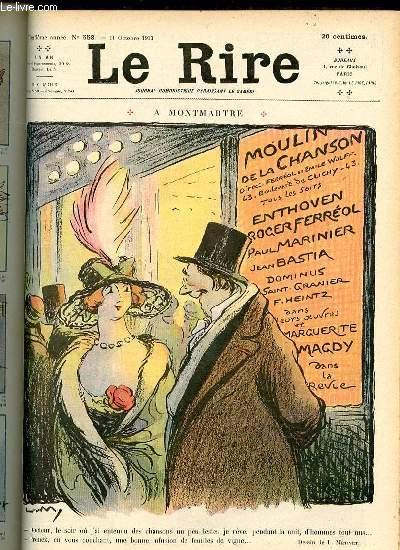 Le rire N°558 de la nouvelle série, A Montmartre.