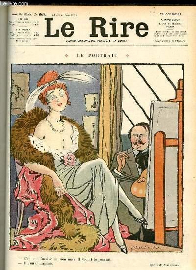 Le rire N°567 de la nouvelle série - LE PORTRAIT.