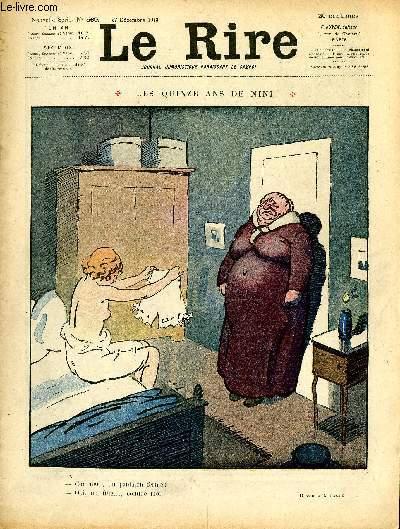 Le rire N°569 de la nouvelle série - Les quinze ans de nini.