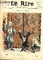 Le rire, N°015 de la 3è série - rouge - Au seuil du Vatican.