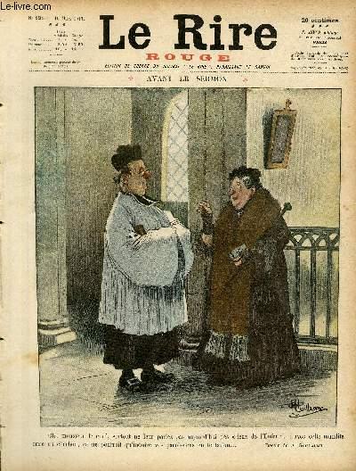 Le rire, N°121 de la série rouge - Edition de guerre - Avant le sermon.