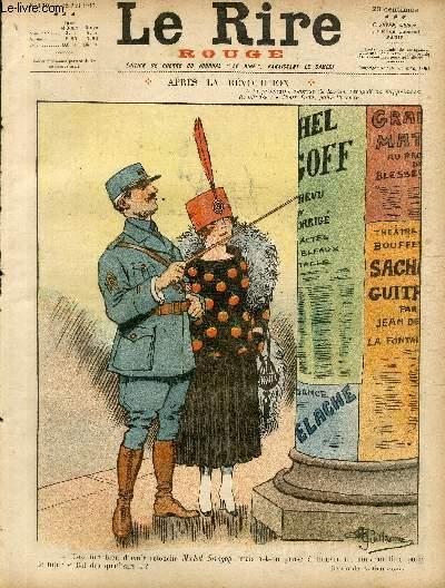 Le rire, N°130 de la série rouge - Edition de guerre - Après la révolution.