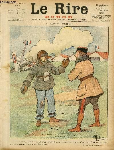 Le rire, N°136 - Série rouge - Edition de guerre - A bâtons rompus.