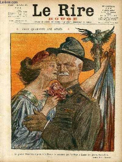 Le rire, N°139 de la série rouge - Edition de guerre - Cent quarante ans après.