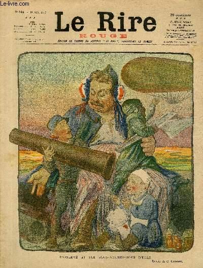 Le rire, N°144 de la série rouge - Edition de guerre - Painlevé et ses sous-nourrisons d'Etat.