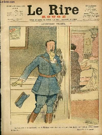 Le rire, N°150 de la série rouge - Edition de guerre - L'indiscret filleul.