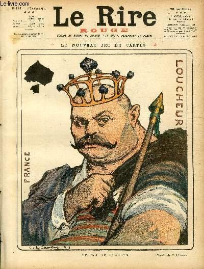 Le rire, N°152 de la série rouge - Edition de guerre - Le nouveau jeu de cartes.