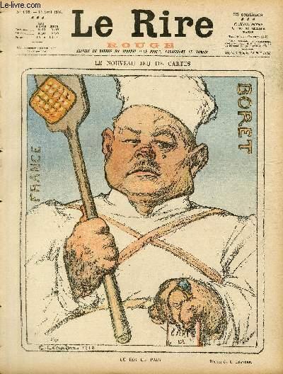 Le rire, N°178 de la série rouge - Edition de guerre - Le nouveau jeu de cartes.
