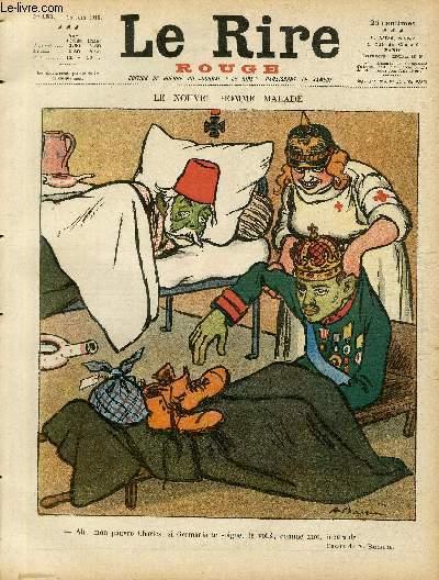 Le rire, N°187 de la série rouge - Edition de guerre - Le nouvel homme malade.