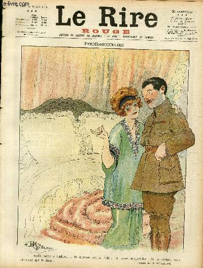 Le rire, N°188 de la série rouge - Edition de guerre - Permissionnaire.