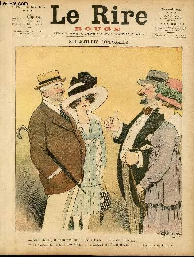 Le rire, N°193 de la série rouge - Edition de guerre - Sollicitudes conjugales.