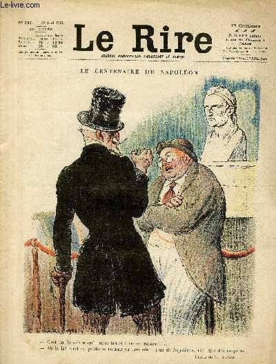 Le rire, N°117 de la 27è année - Le centenaire de Napoléon