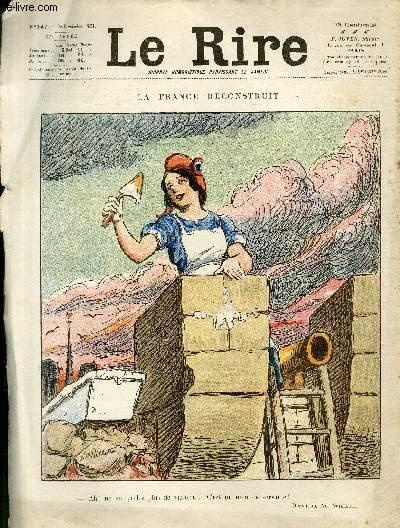 Le rire, N°147 de la 27è année - La France reconstruit