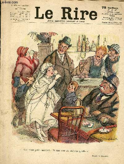 Le rire, N°279 de la 30è année - Une vraie petite mariée