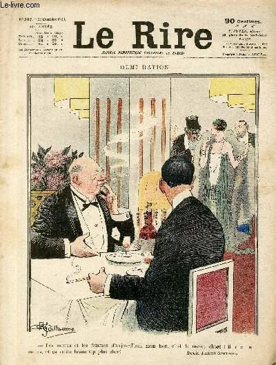 Le rire, N°307 de la 30è année - Demi-ration