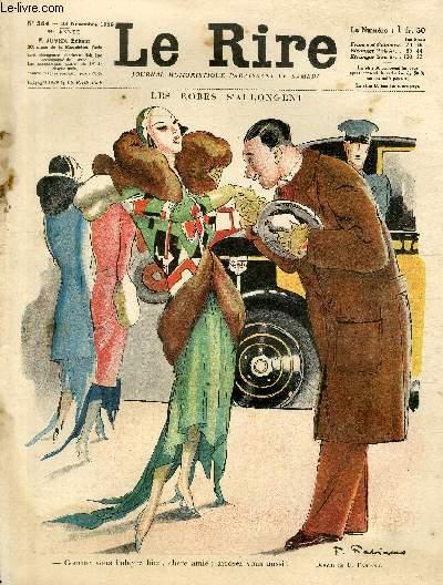 Le rire, N°564 de la 35è année - Les robes s'allongent