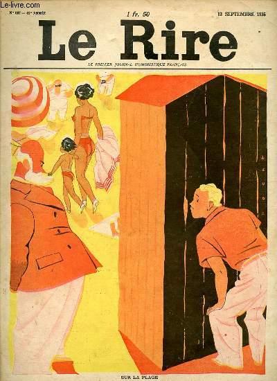 Le rire, N°867 - Le premier journal humoristique français.