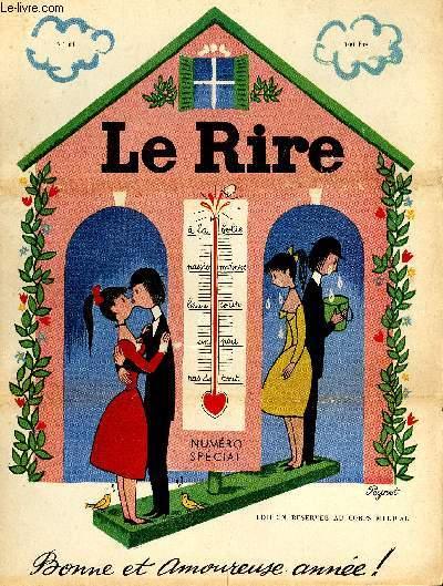 Le rire, N°064 de la nouvelle série, N° spécial, Bonne et amoureuse année!