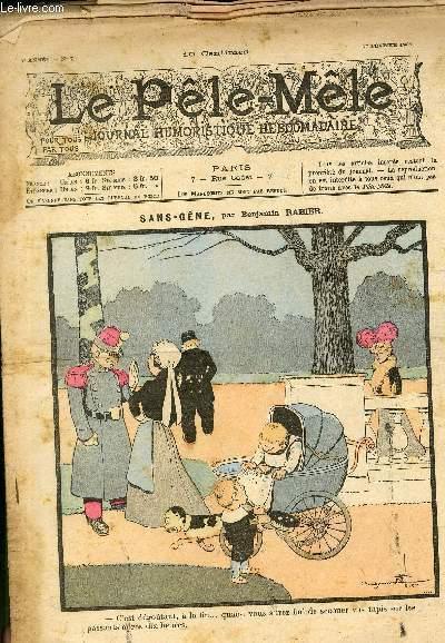 Le Pêle-Mêle, 7è année, N°07 - Sans-gêne