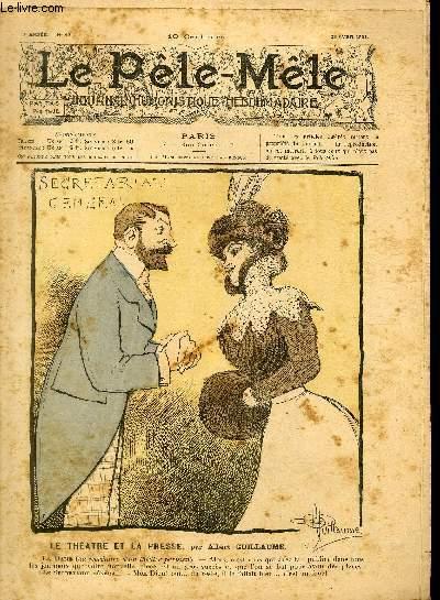 Le Pêle-Mêle, 7è année, N°17 - Le théâtre et la presse
