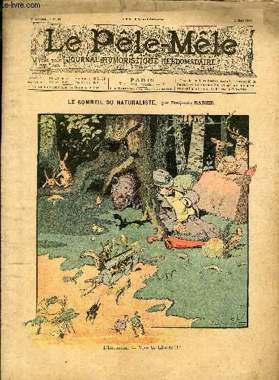 Le Pêle-Mêle, 7è année, N°18 - Le sommeil naturaliste