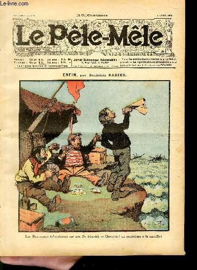 Le Pêle-Mêle, 11è année, N°15, Enfin.
