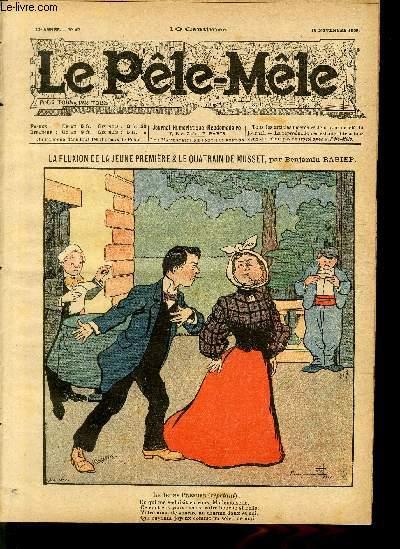 Le Pêle-Mêle, 11è année, N°47, La fluxion de la jeune première.